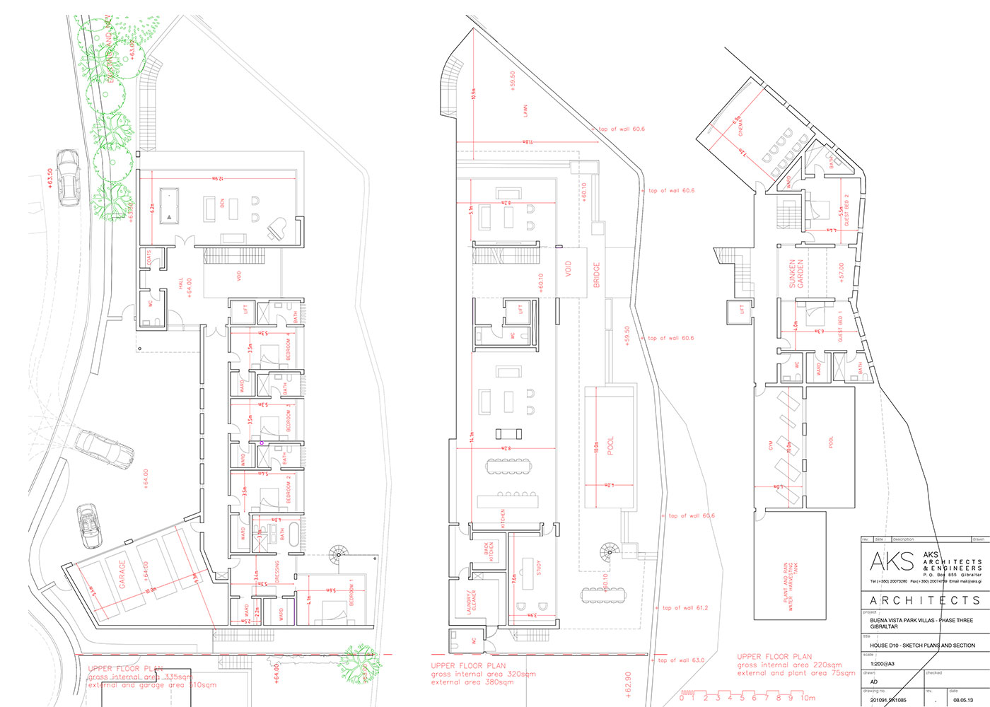 d10 and d11 joint villa floor plan image