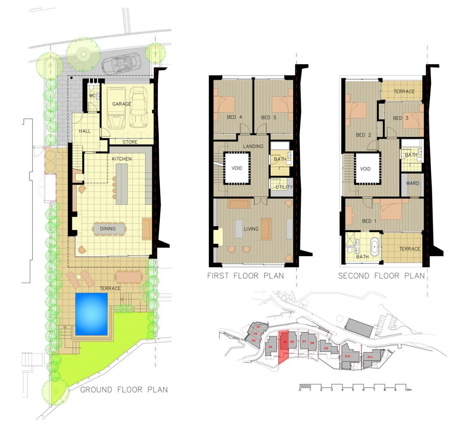 D5-D8 Plans